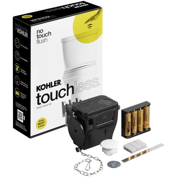 Touchless Toilet Flush Kit by Kohler