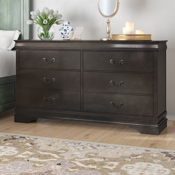 Waynesburg 6 Drawer Double Dresser by Alcott Hill