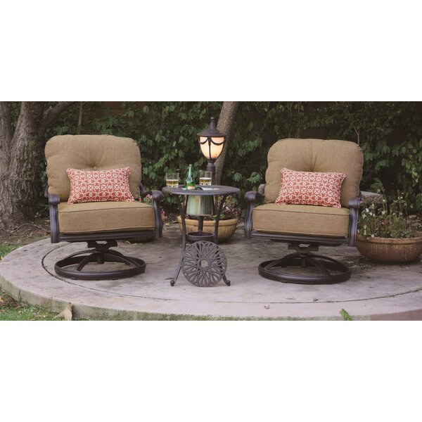 Lebanon 3 Piece Seating Group with Cushions by Three Posts