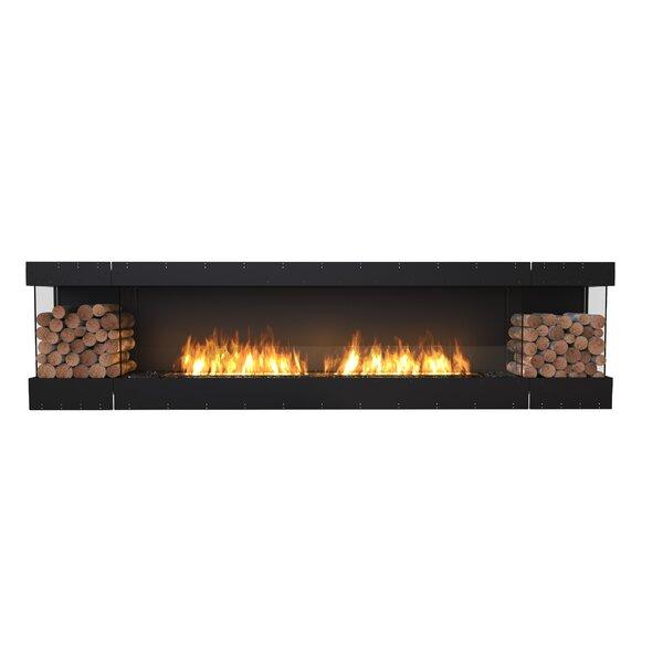 FLEX122 Bay Wall Mounted Bio-Ethanol Fireplace Insert by EcoSmart Fire