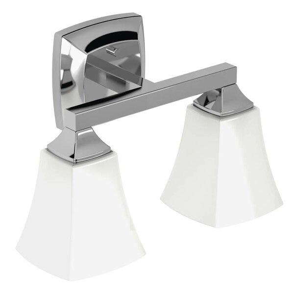 Voss 2-Light Vanity Light by Moen