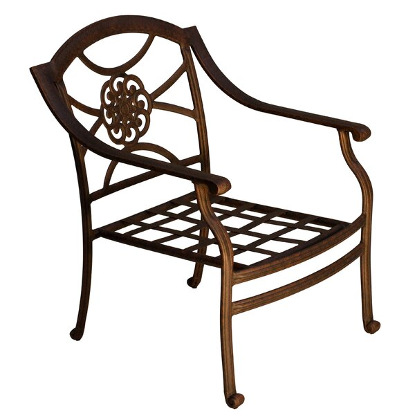 Ross Patio Chair by Fleur De Lis Living