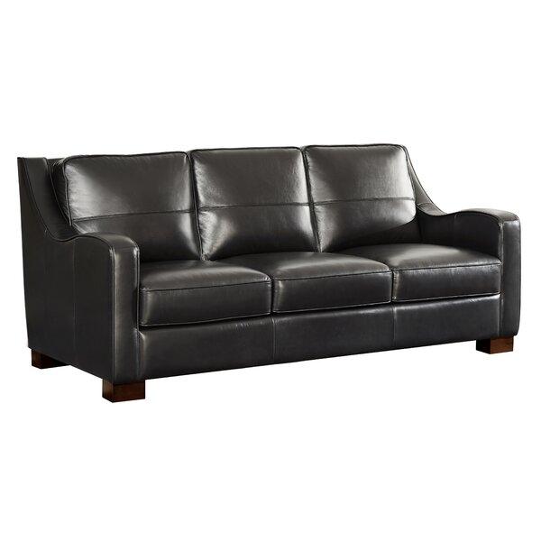 Arlford Leather Sofa By Latitude Run