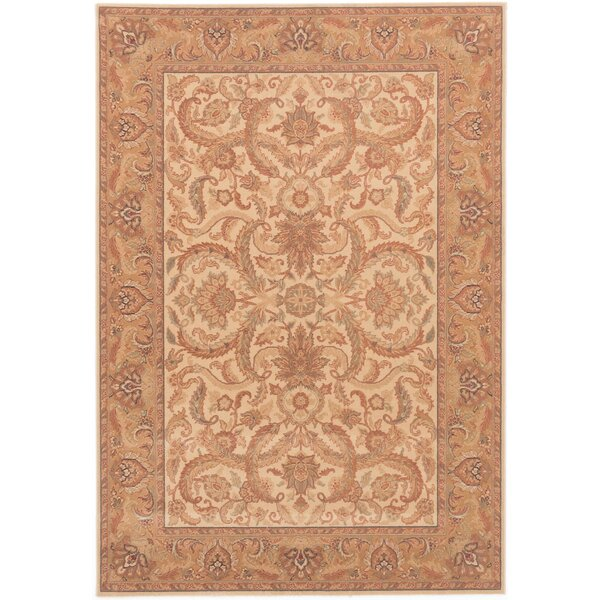 Hailo Ivory Wool Area Rug by Astoria Grand