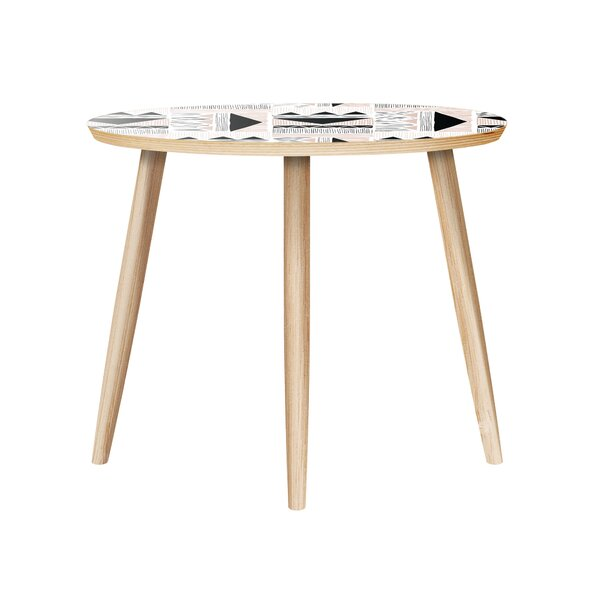 Ugarte End Table by Bungalow Rose