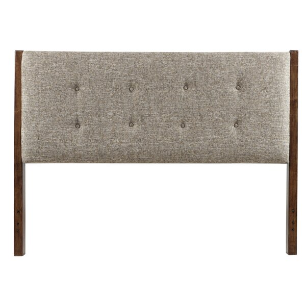Keyon Queen Upholstered Panel Headboard by Corriga