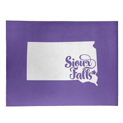 Sioux Falls South Dakota Poly Chenille Rug East Urban Home Rug Size: Rectangle 2' x 3 -  BF18BF0866484FC78D1EAD975DB92295