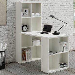 Barling Writing Desk with Hutch by Ebern Designs