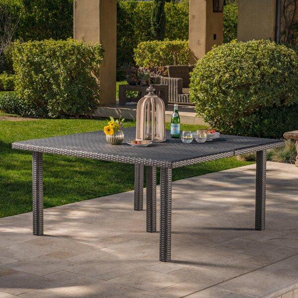 Mclemore Wicker/Rattan Dining Table By Latitude Run by Latitude Run Amazing