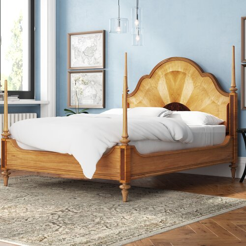 Puteaux Four Poster Bed Lark Manor Size: Super King (6)