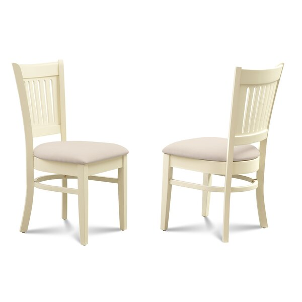 Corcoran Microfiber Upholstered Dining Chair (Set of 2) by Alcott Hill