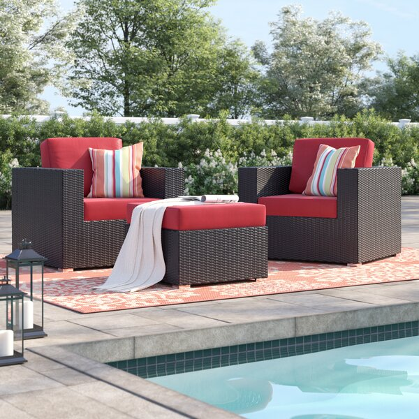 Brentwood 3 Piece Seating Group with Cushions