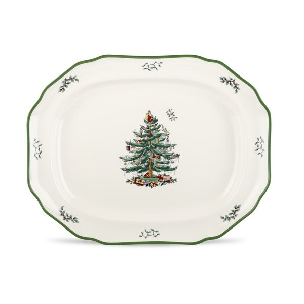Sculpted Platter by Spode