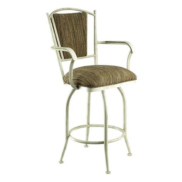 Martinez-Wilson 30 Swivel Bar Stool by Red Barrel Studio