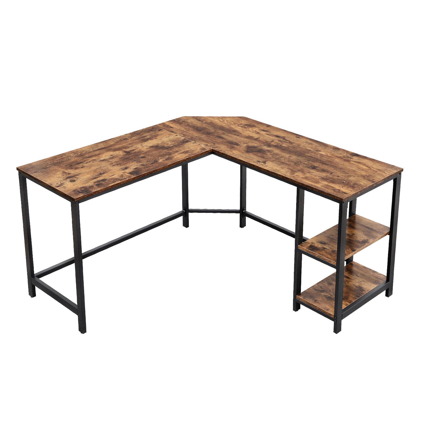 Williston Forge Enprise L Shape Desk