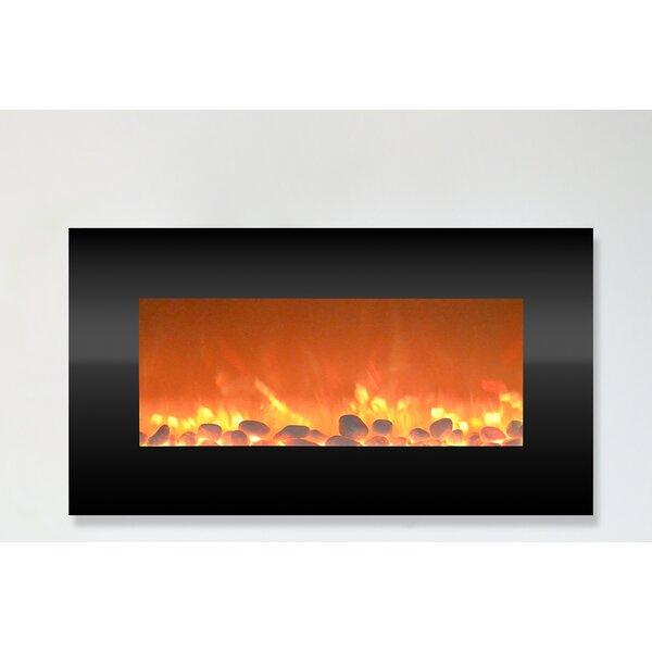 Hyler Wall Mounted Electric Fireplace By Orren Ellis