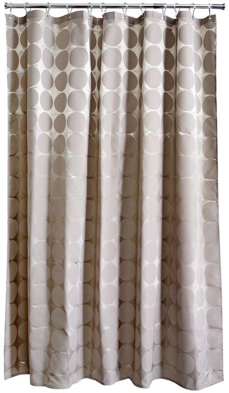 home etc duschvorhang satin circles aus pvc bewertungen. Black Bedroom Furniture Sets. Home Design Ideas