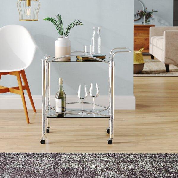 Clarkesville Bar Cart by Zipcode Design