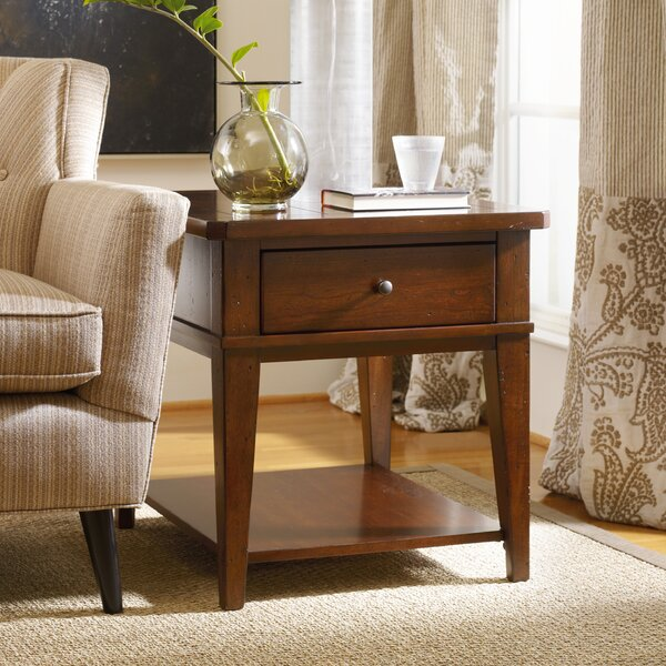 Wendover End Table with Storage by Hooker Furniture