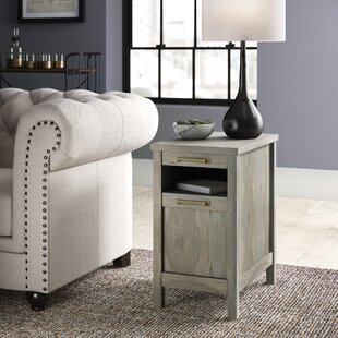 Best Tilden End Table With Storage By Greyleigh