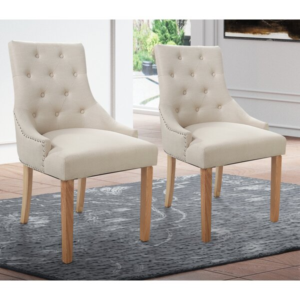 Daley Upholstered Dining Chair (Set Of 2) By Gracie Oaks