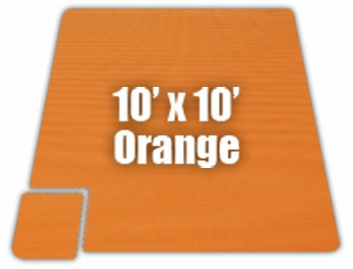Premium SoftFloors Set in Orange by Alessco Inc.