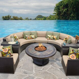 Delicieux Barbados 8 Piece Sectional Set With Cushions