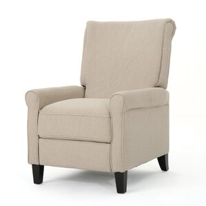Gladding Fabric Push Back Recliner by ..