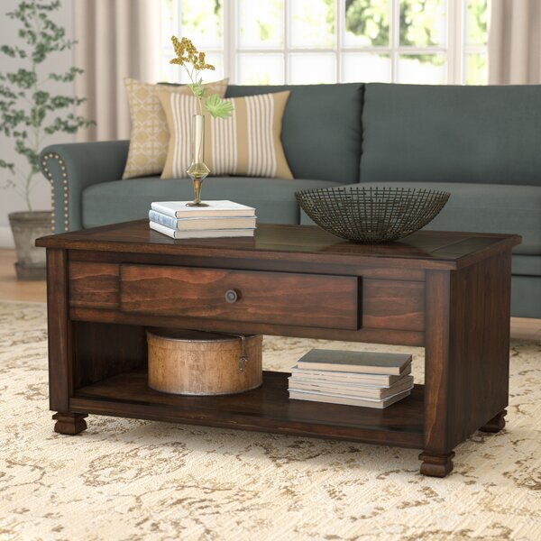 Colman Coffee Table With Storage By Winston Porter