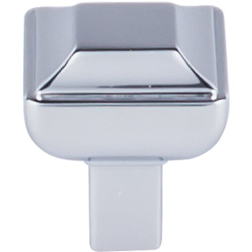 Transcend Podium Square Knob by Top Knobs