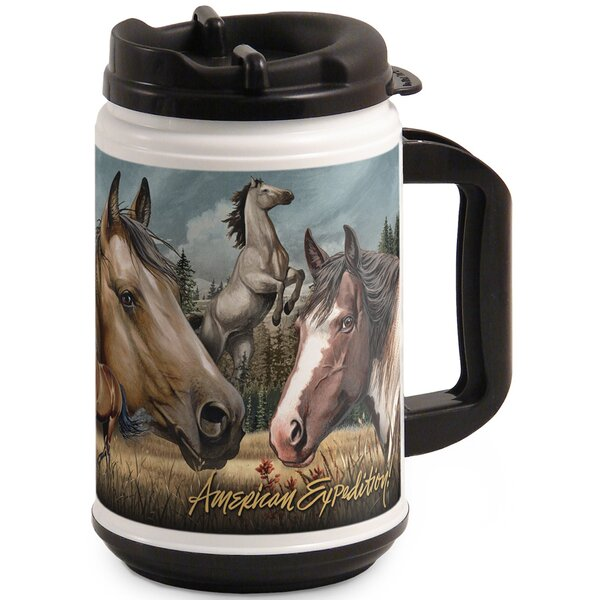 Moose Collage 24oz Thermal Mug by American Expedition
