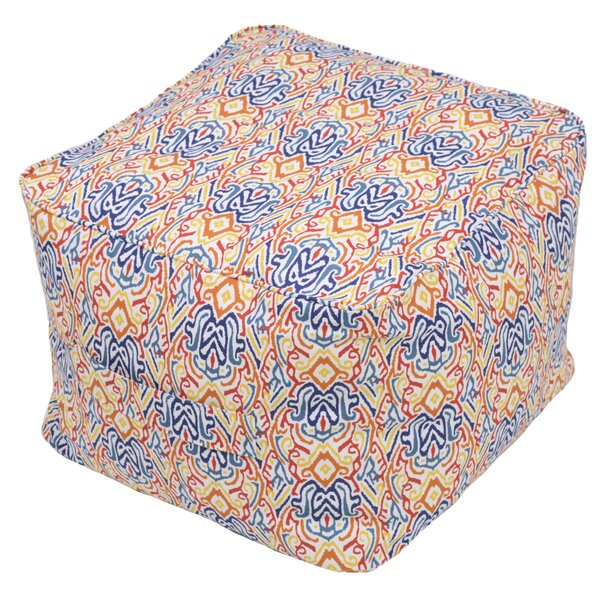 Bearse Pouf Self Welt Ottoman by Charlton Home