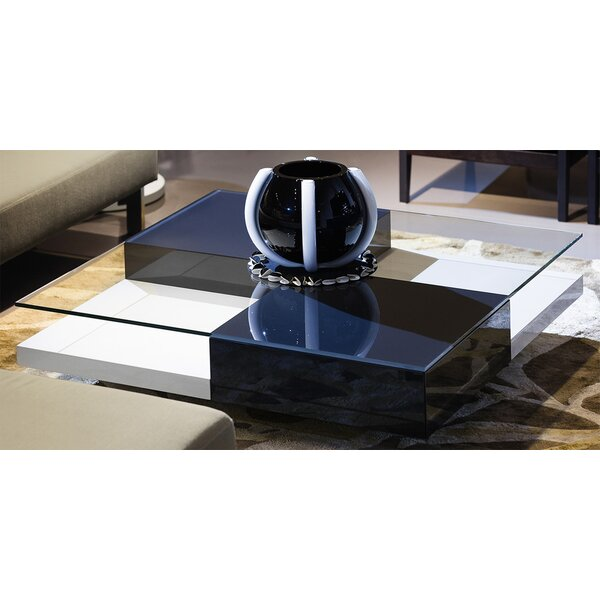 Wheel Coffee Table With Storage By Argo Furniture