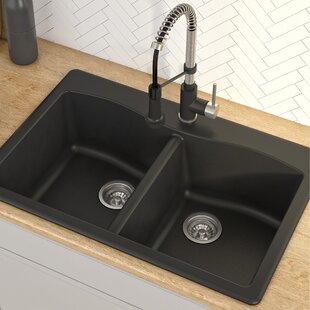 Granite Kitchen Sinks Youu0027ll Love | Wayfair