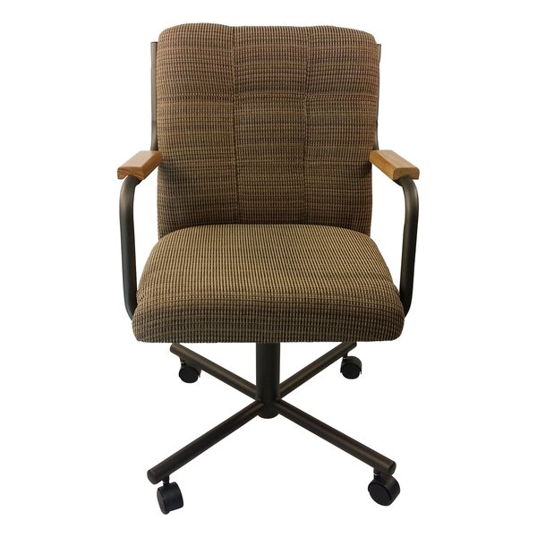 Ceasar Upholstered Dining Chair by Red Barrel Studio