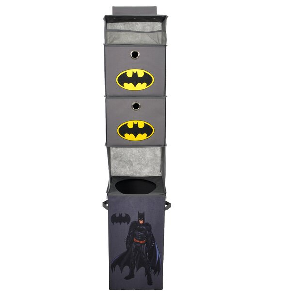 Batman Closet Hanging Organizer by Modern Littles