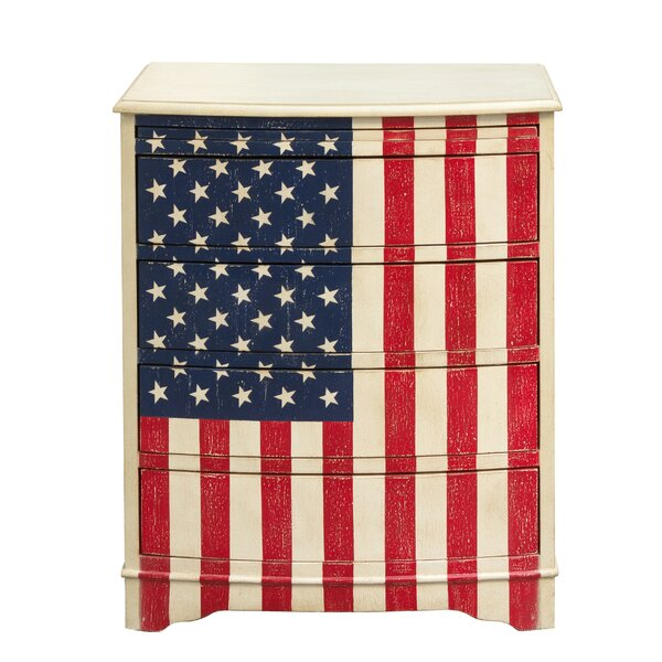 Pledge of Allegiance 4 Drawer Chest by Highway To Home Highway To Home