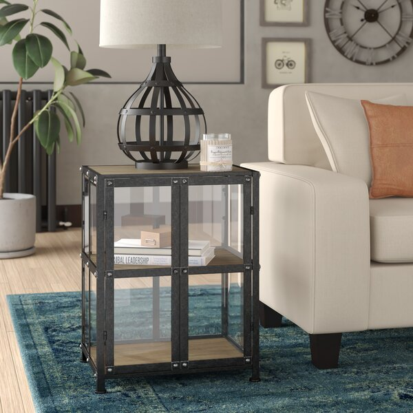 Carlsbad End Table with Storage by Trent Austin Design