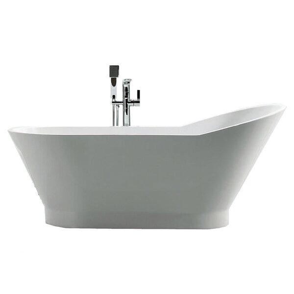 Dove 59 x 27.875 Bathtub by Jade Bath