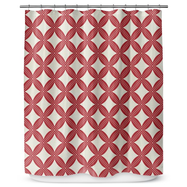 Christmas in Plaid 90 Shower Curtain by KAVKA DESIGNS