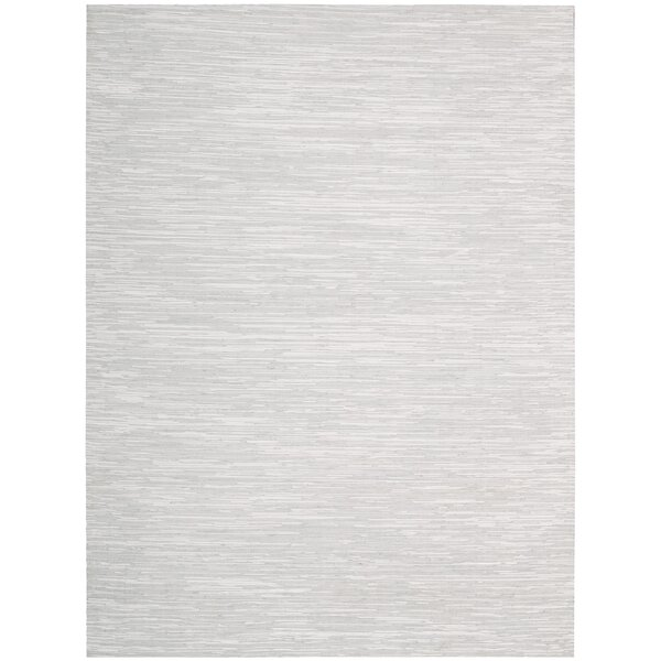 Denieron Hand-Woven Mist Area Rug by 17 Stories