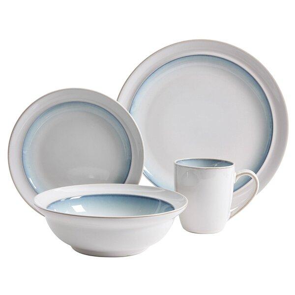 Aya 16 Piece Dinnerware Set, Service for 4 by Highland Dunes