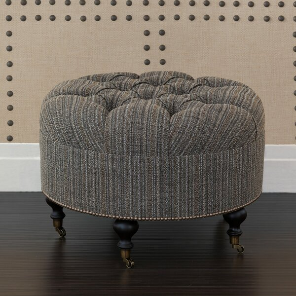 Reign Parton Tufted Ottoman by Eastern Accents