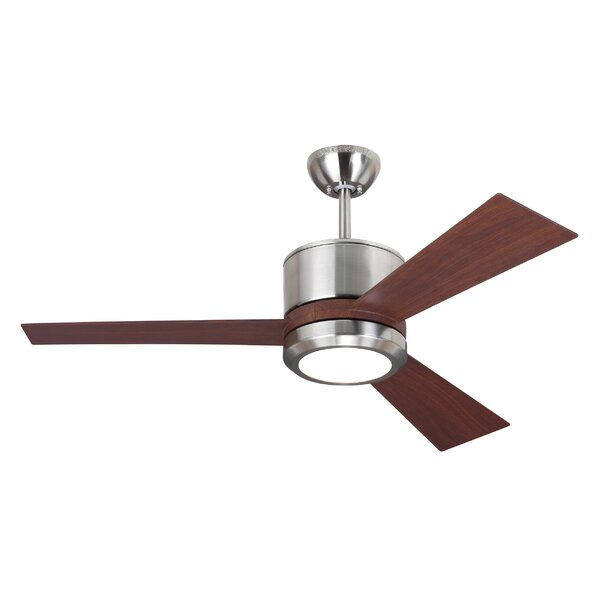 42 Fort Hamilton 3 Blade LED Ceiling Fan with Remote by Ivy Bronx