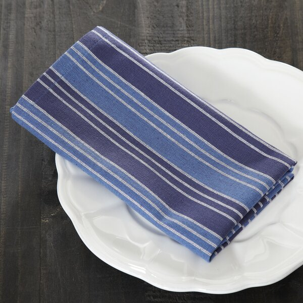 Kylie Striped Napkins (Set of 6) by Birch Lane™