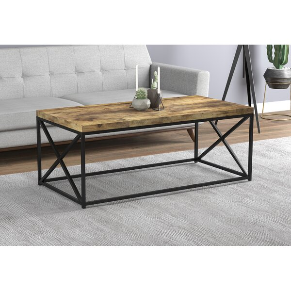 Knapp Coffee Table With Tray Top By 17 Stories