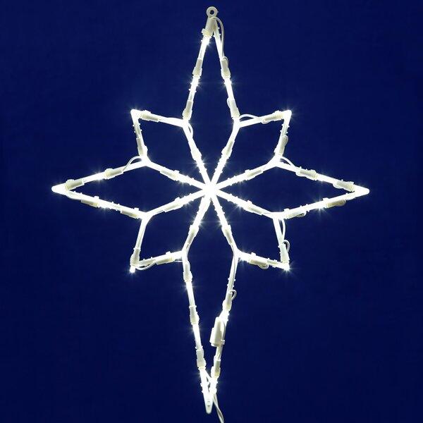 Star LED Star of Bethlehem Window Décor by The Holiday Aisle
