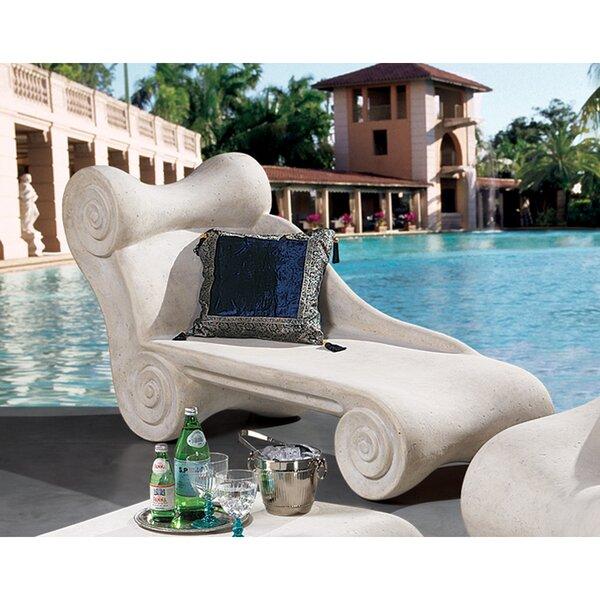 Hadrian's Villa Roman Chaise Lounge by Design Toscano Design Toscano