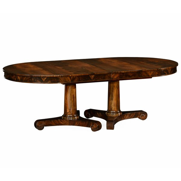 Knightsbridge Biedermeier Extendable Solid Wood Dining Table by Jonathan Charles Fine Furniture