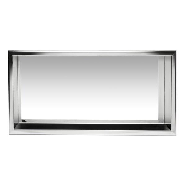 Horizontal Stainless Steel Single Shower Niche by Alfi Brand